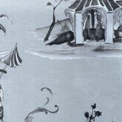 Обои Osborn&Little POMPADOUR, арт. w6011-05