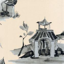 Обои Osborn&Little POMPADOUR, арт. w6011-08