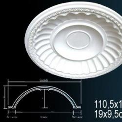 Обои Perfect Розетки потолочные и кессоны, арт. B2002