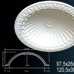 Обои Perfect Розетки потолочные и кессоны, арт. B2005