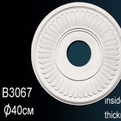 Обои Perfect Розетки потолочные и кессоны, арт. B3067