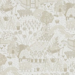 Обои Sanderson The Potting Room Wallpaper, арт. 216353