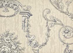 Обои SanGiorgio Ibiscus, арт. paris/M8211/8016