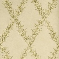 Обои Stroheim Charles Faudree Wallcovering, арт. Beauclaire trellis Olive