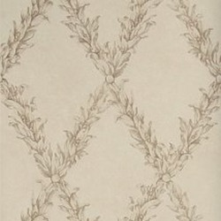 Обои Stroheim Charles Faudree Wallcovering, арт. Beauclaire trellis Taupe