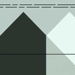 Обои Wall Street Geometry 2018, арт. 20037