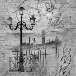 Обои Wall Street Grayscale, арт. 16948