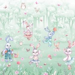 Обои Wall Street Rabbit Room, арт. 21310