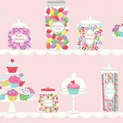 Обои Wallquest Jelly Beans, арт. JB80001