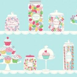 Обои Wallquest Jelly Beans, арт. JB80002