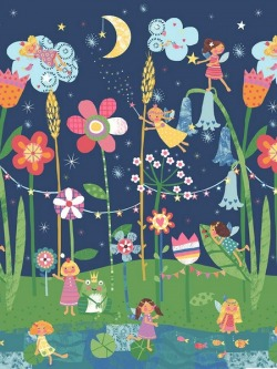 Обои Wallquest Pajama Party, арт. KJ50309M