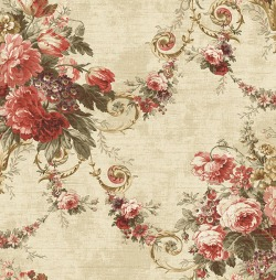 Обои Wallquest Parisian Florals, арт. FV60011