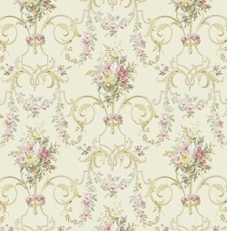 Обои Wallquest Parisian Florals, арт. FV60501