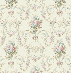 Обои Wallquest Parisian Florals, арт. FV60502