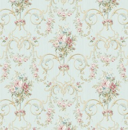 Обои Wallquest Parisian Florals, арт. FV60512