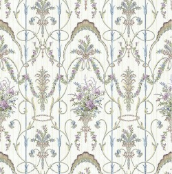 Обои Wallquest Parisian Florals, арт. FV60809