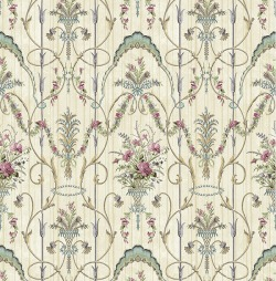 Обои Wallquest Parisian Florals, арт. FV60819