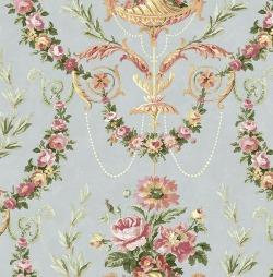 Обои Wallquest Parisian Florals, арт. FV61001