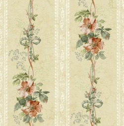 Обои Wallquest Parisian Florals, арт. FV61107