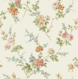 Обои Wallquest Parisian Florals, арт. FV61301