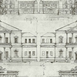 Обои Wallquest Savannah House, арт. SV61600
