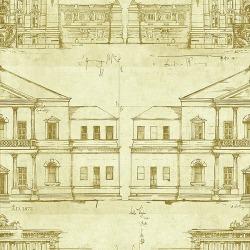 Обои Wallquest Savannah House, арт. SV61605