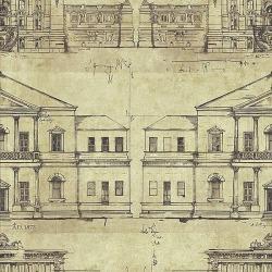 Обои Wallquest Savannah House, арт. SV61607