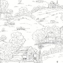 Обои York Simply Farmhouse, арт. FH4031