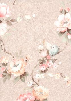 Обои Zambaiti Parati Satin Flowers 2, арт. Z4115