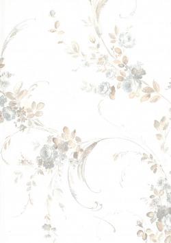 Обои Zambaiti Parati Satin Flowers 2, арт. Z4165