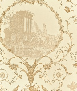 Обои Zoffany Chantemerle Wallpaper, арт. ZCDW06001