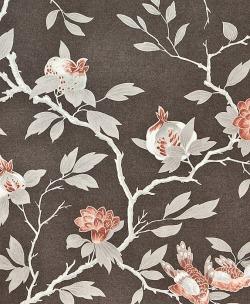 Обои Zoffany Fleurs Rococo, арт. FLW03001