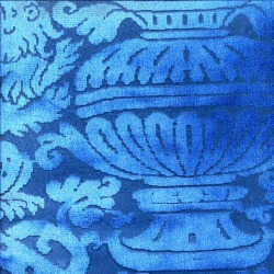 Обои Zuber Grand Duche 2, арт. 40068 BLEU