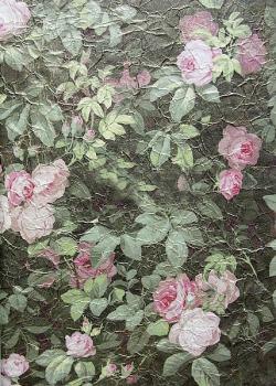 Обои Zuber Roses Anciennes, арт. 4944