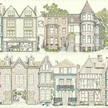 Обои Ashford House Toiles II, арт. AF1909