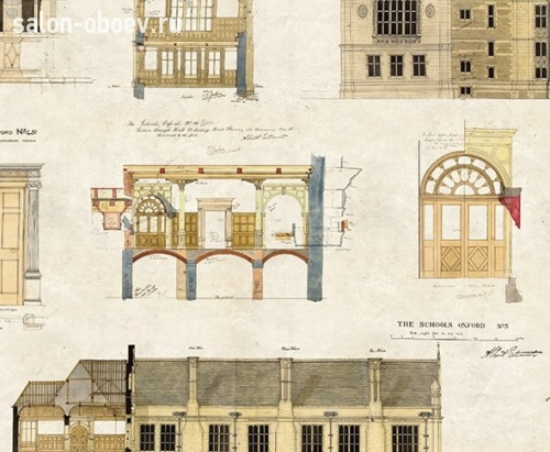 Обои University of Oxford Archives II, арт. WP0090204